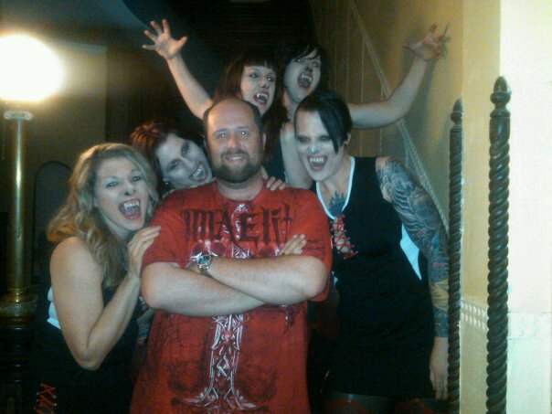Chris Hostetler, Pink Diamond, Faerie Lethal, Maimy Fisher, Deth Blok, and Julia Sleazer